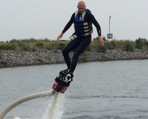 Flyboarden in Hoorn