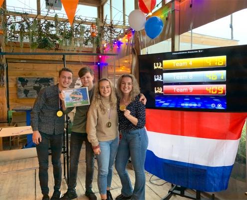 Spelshow in Hoorn